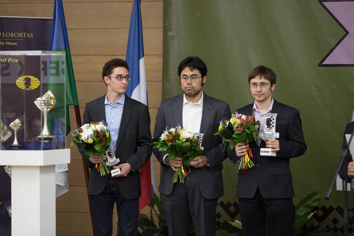 Гран при по шахматам в Ханты-Мансийске 2015