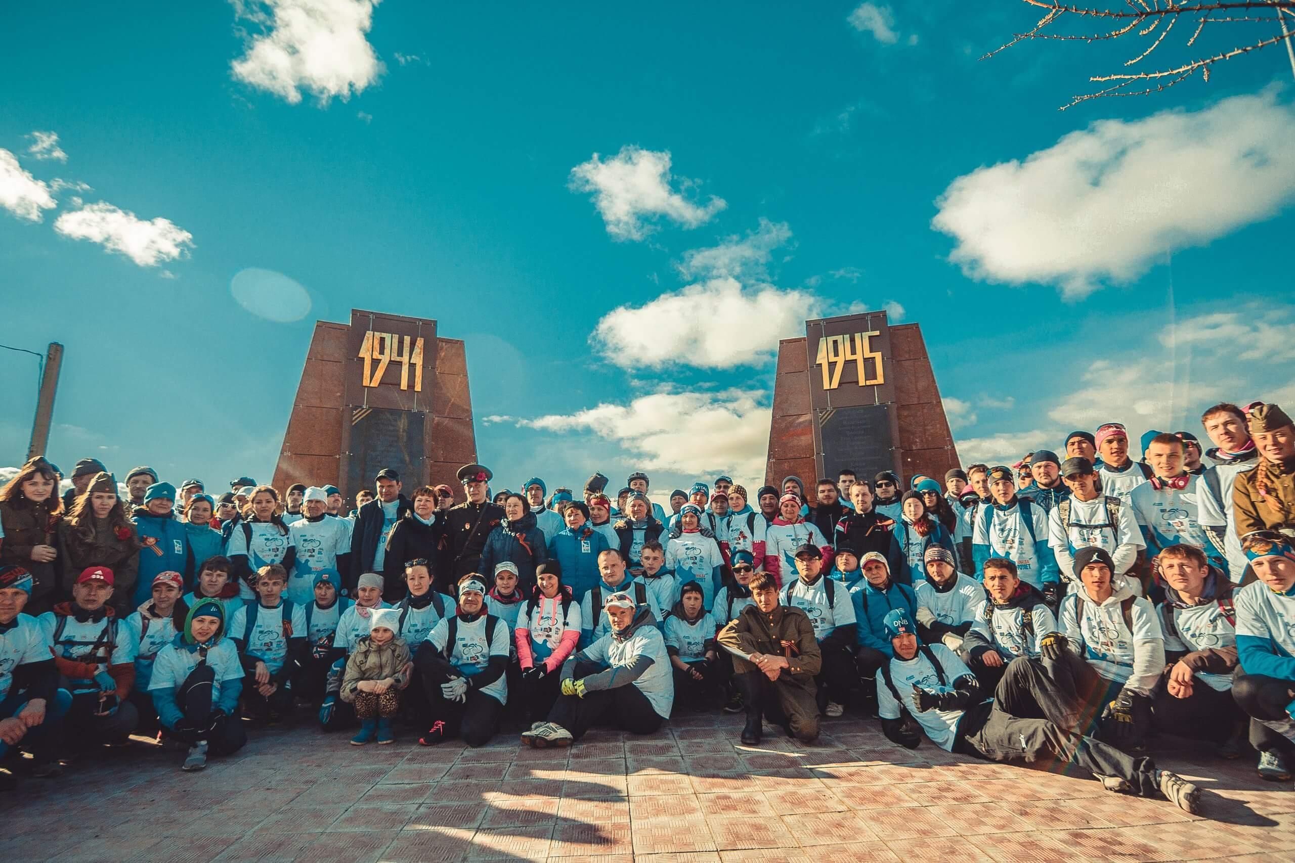 """Велопарад """"Ханты-Мансийск - Шапша"""" 9 мая 2015"""