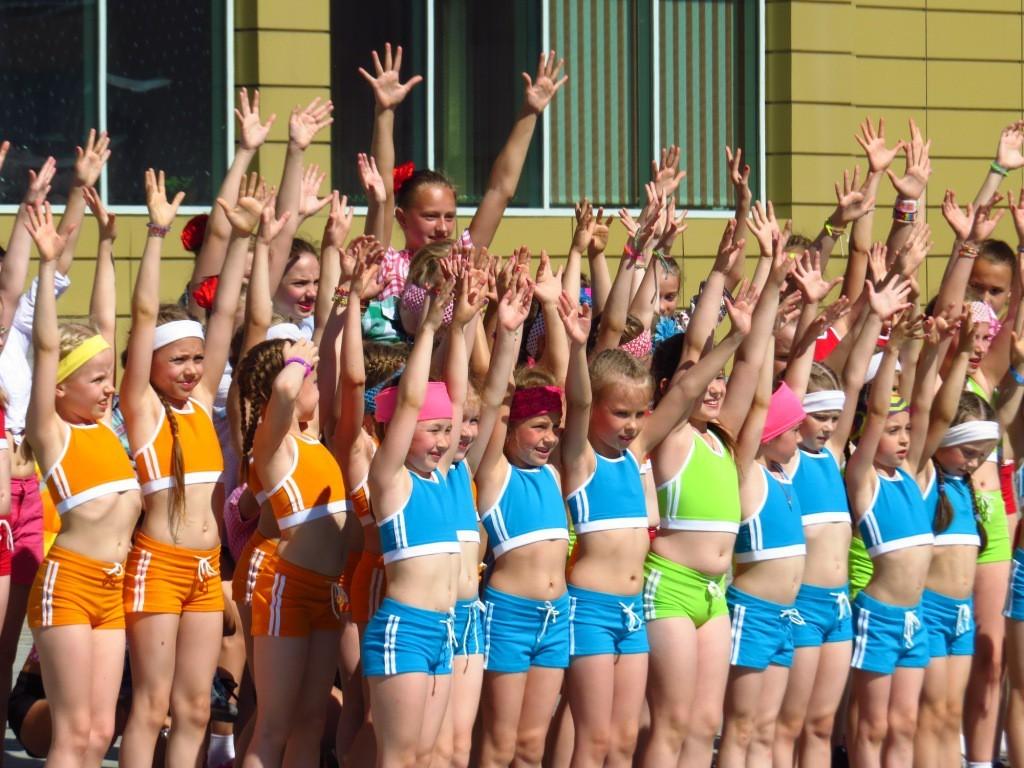 Танцевальный фестиваль прошел в Ханты-Манcийске
