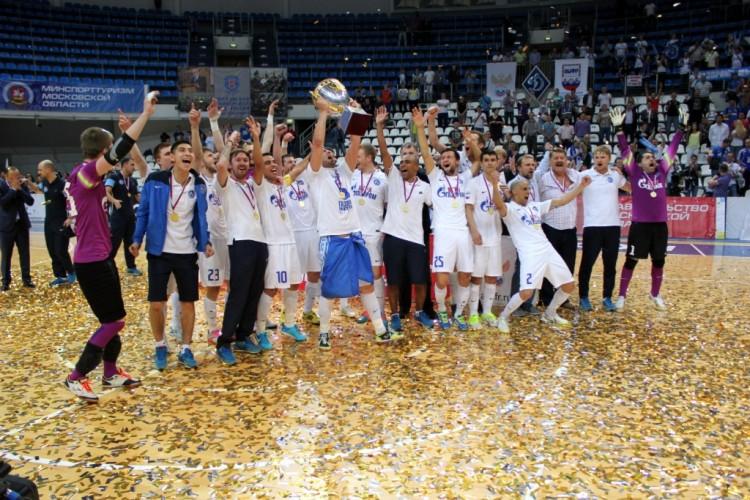 Чемпионы России по мини-футболу сезона 2014-2015 Газпром-Югра