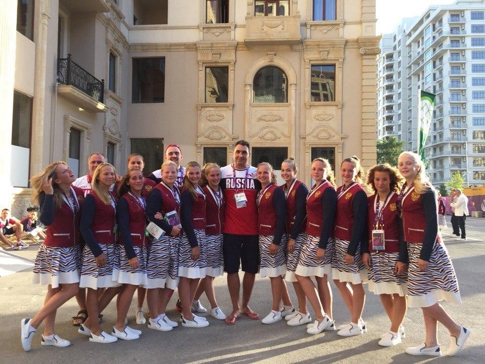 Сбрная России по одному поло на Европейских играх