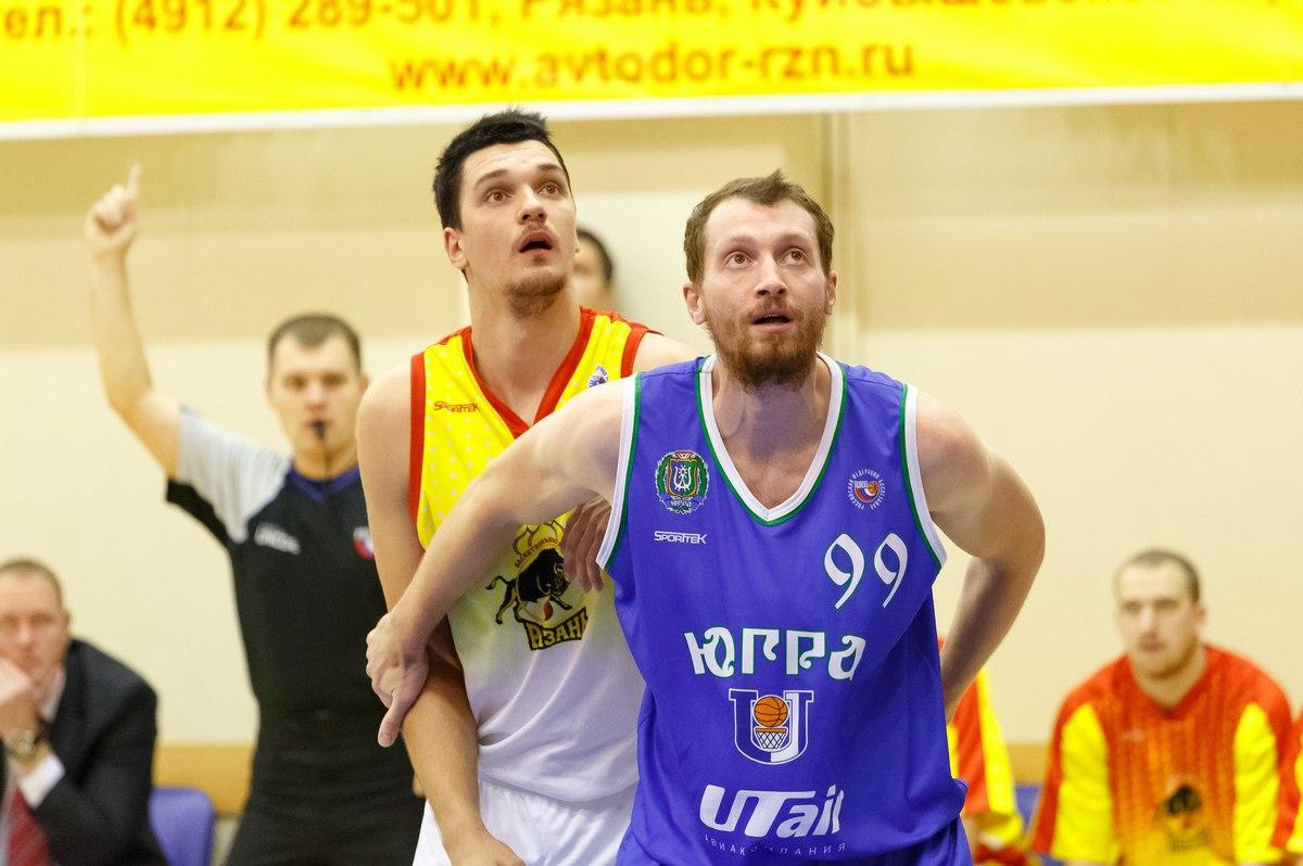 Антон Саяпин баскетболист Университет Югры