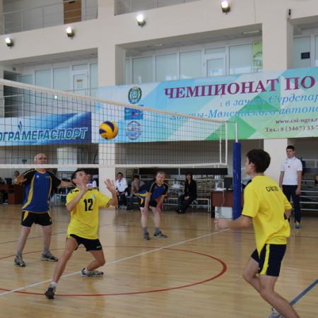 Волейбол адаптивный спорт в Сургуте