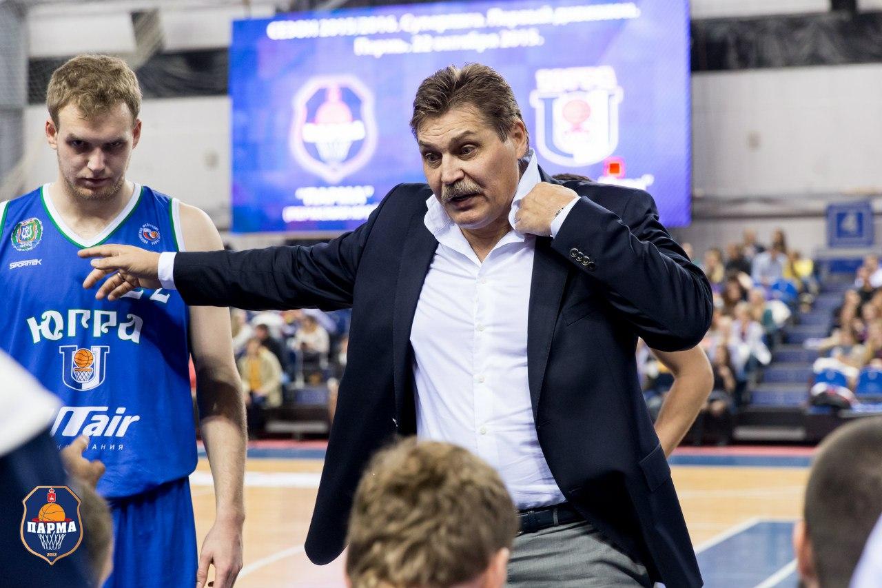Сергей Ольхов тренер Университет-Югра Сургут
