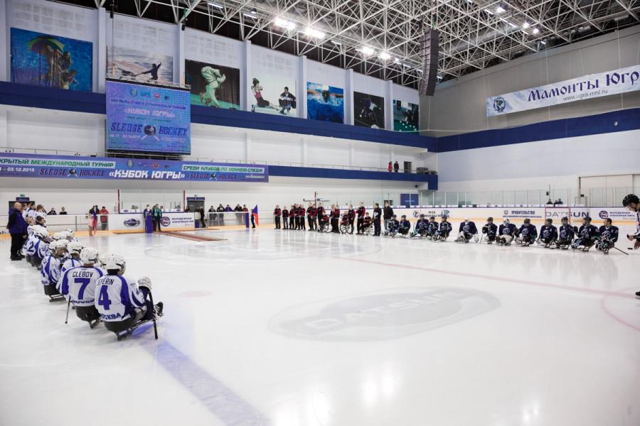 Международный турнир по следж-хоккею «Кубок Югры» открытие