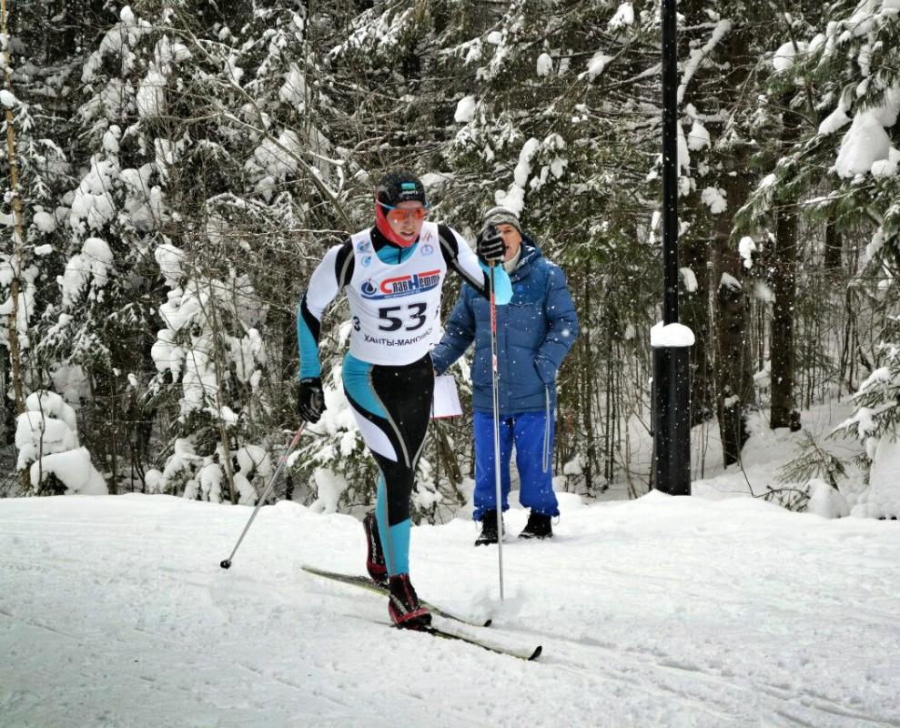 Лыжник Константин Мочалов