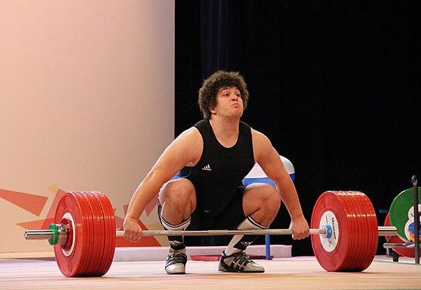 Тимур Наниев тяжелая атлетика