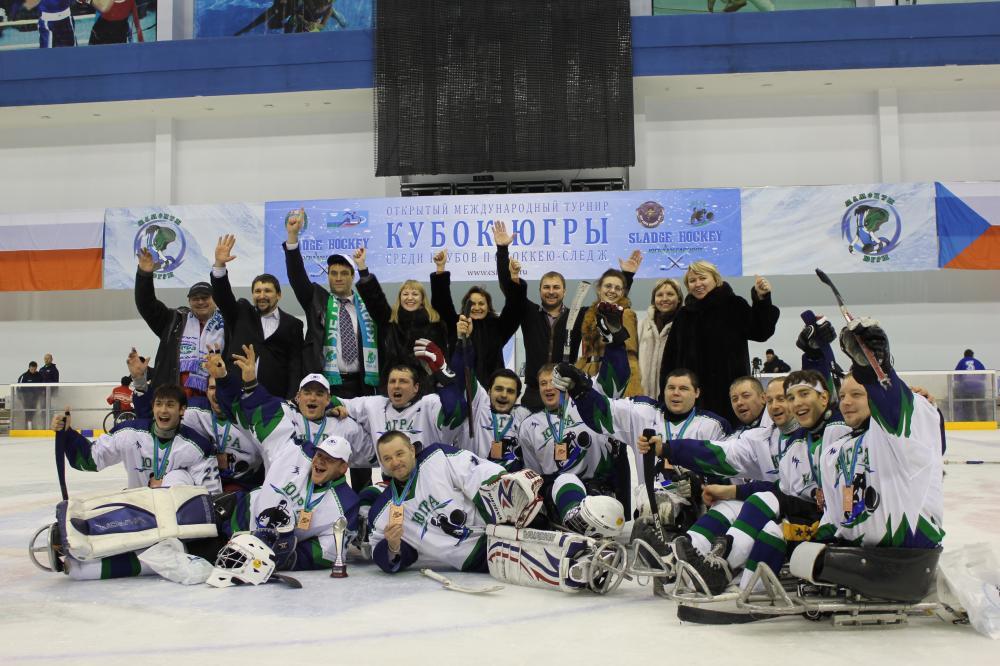 Следж-хоккей в России