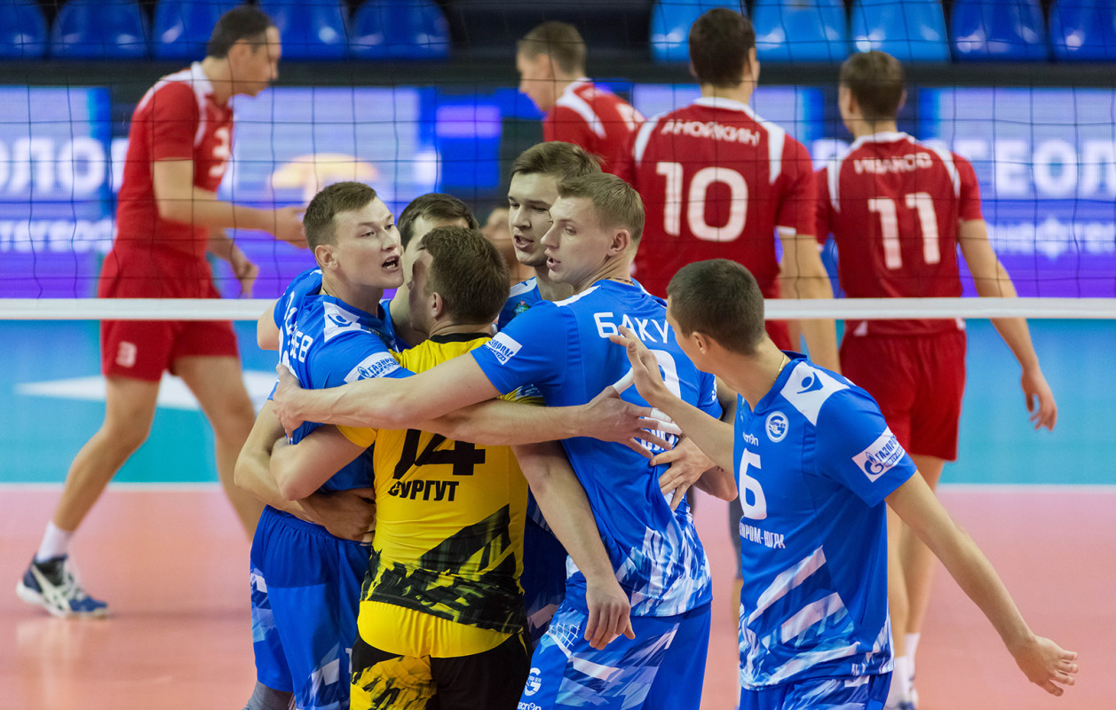 Сургутский волейбольный клуб Газпром-Югра