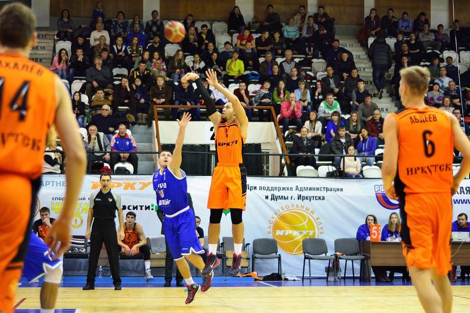 баскетбольный клуб Университет-Югра против Иркута