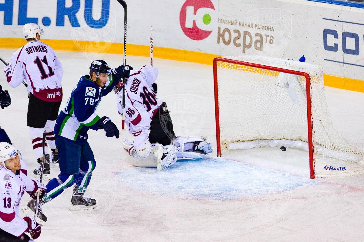 Югра-Динамо Рига 14 ноября 2015 года