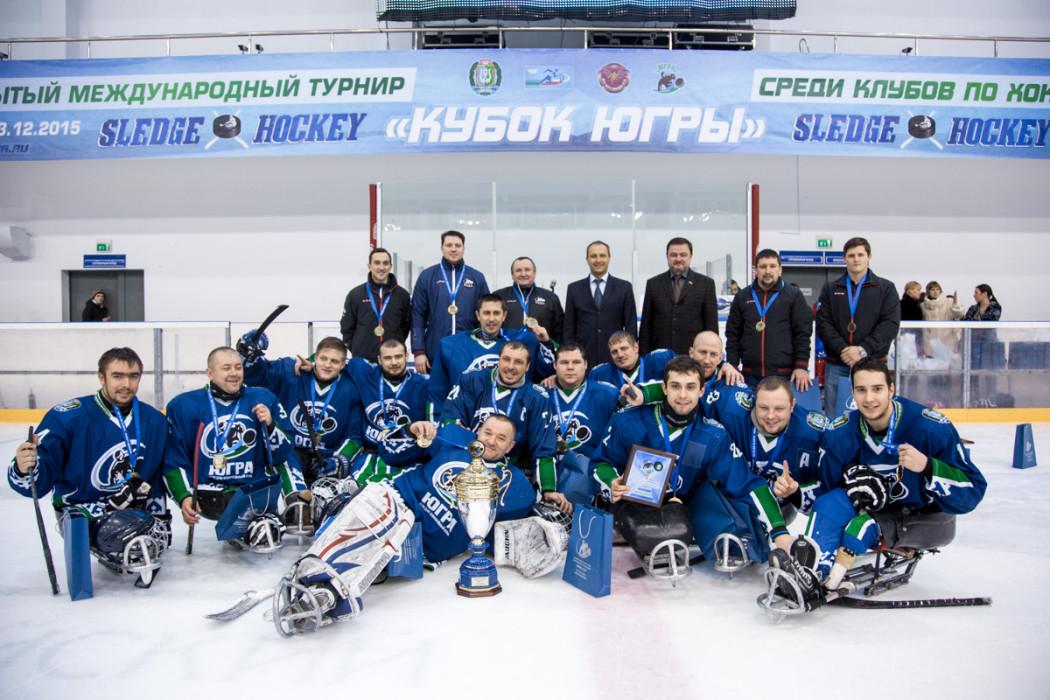 СХК Югра чемпионы Кубка ЮГРЫ по следж-хоккею