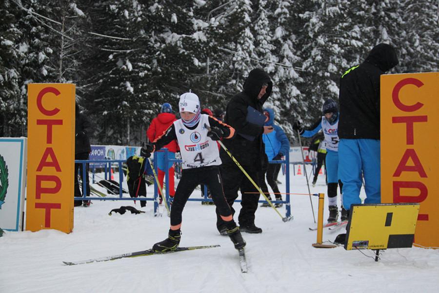 детский лыжный спорт