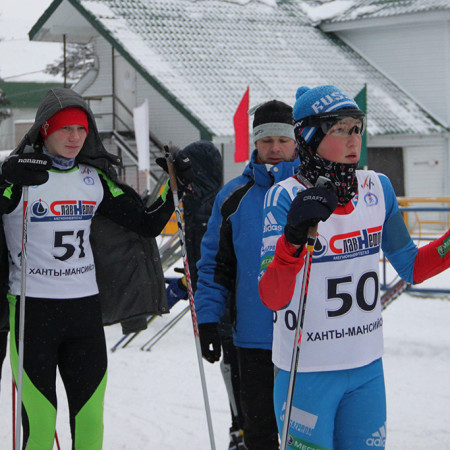 Молодые лыжники ХМАО-Югры