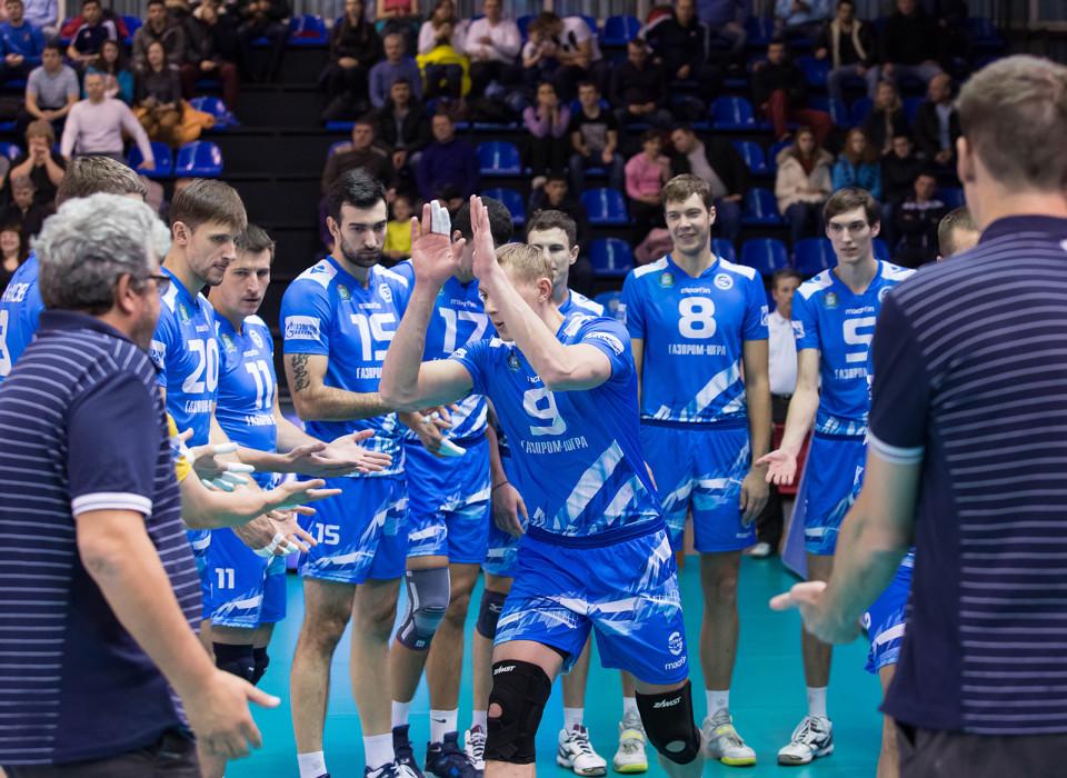 Волейбольный клуб Газпром-Югра кубок ЕКВ