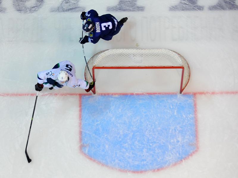 Пустые ворота в хоккее