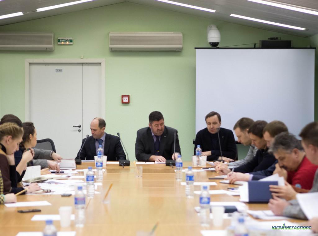 Рабочее совещание Исполнительной дирекции по проведению и организации «Югорского лыжного марафона»