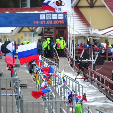Отмена гонок по биатлону в Ханты-Мансийске