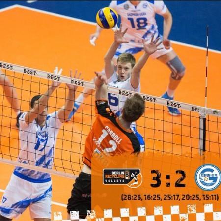 Волейбол Берлин против Газпром-Югры