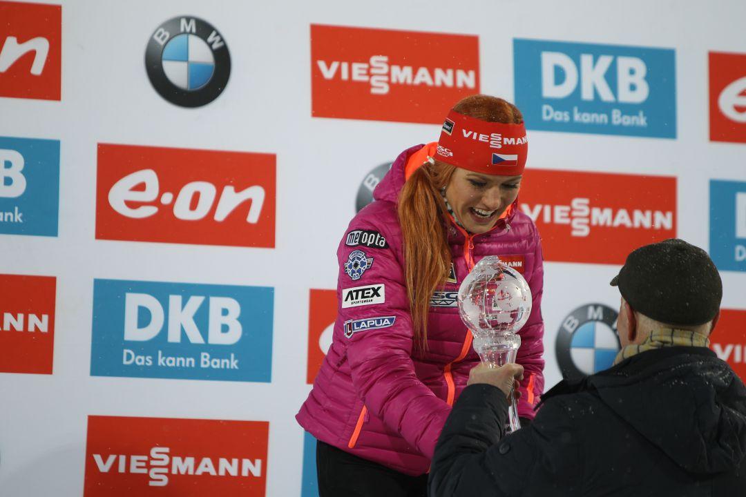 Габриэла Соукалова завоевала малый Хрустальный глобус в спринтерском зачёте