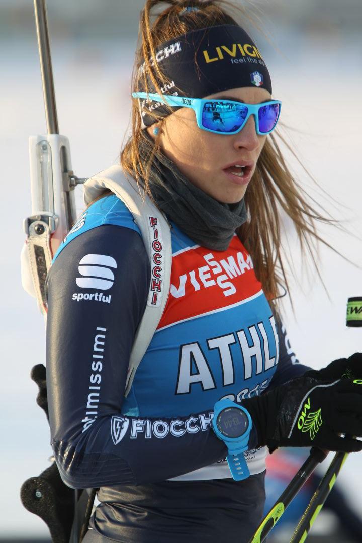 Доротея Вирер на биатлоне в Ханты-Мансийске