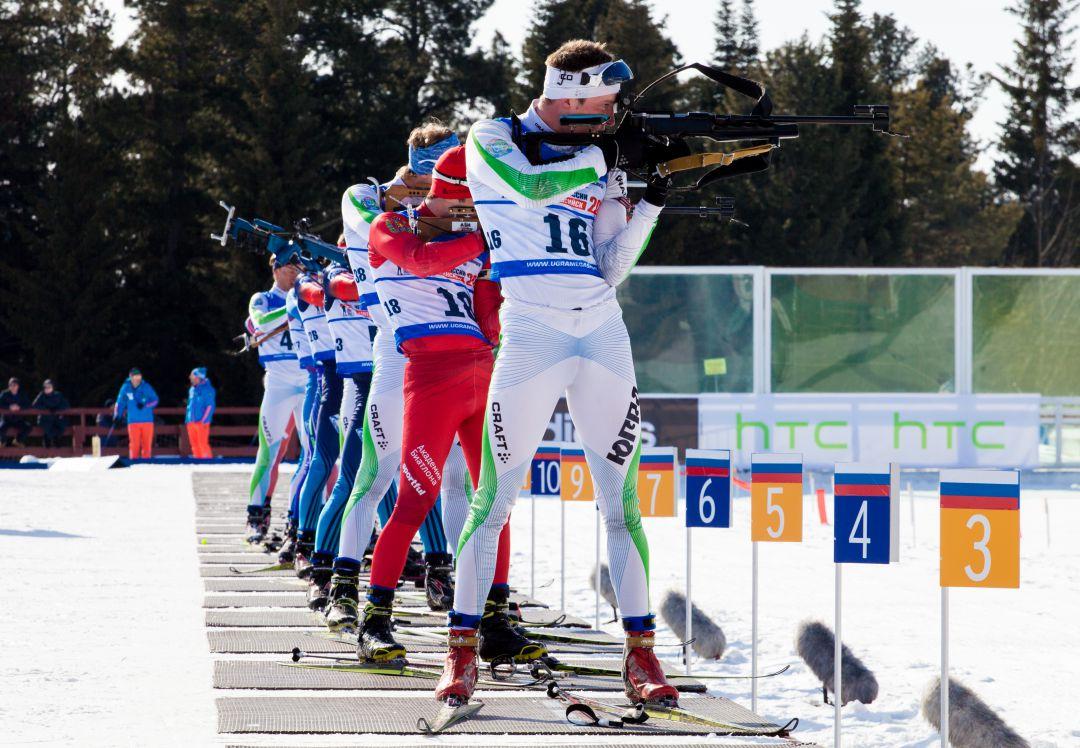 Фото с чемпионата России по биатлону в Ханты-Мансийске