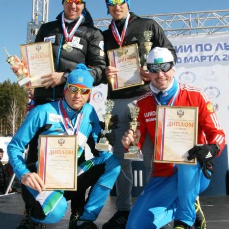 Югорский лыжный марафон участники