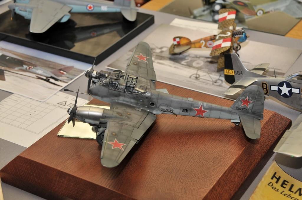 Модель советского самолета