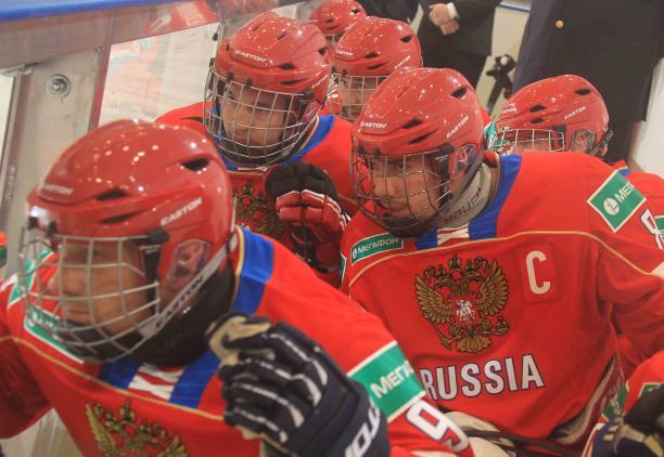 Следж хоккеисты сборной России