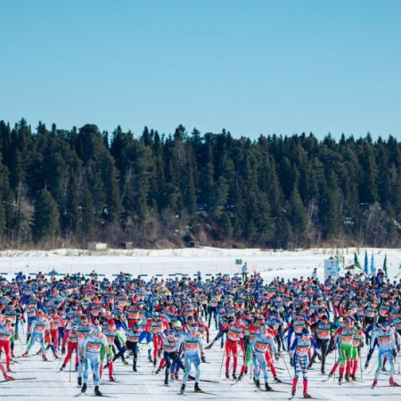 Марафон привлек большое количество участников со всего мира.