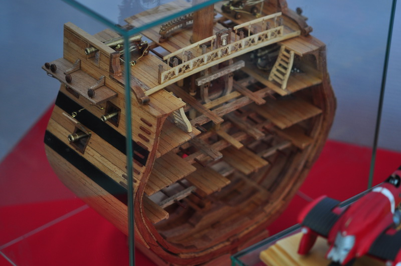 Стендовая модель внутренних помещений корабля