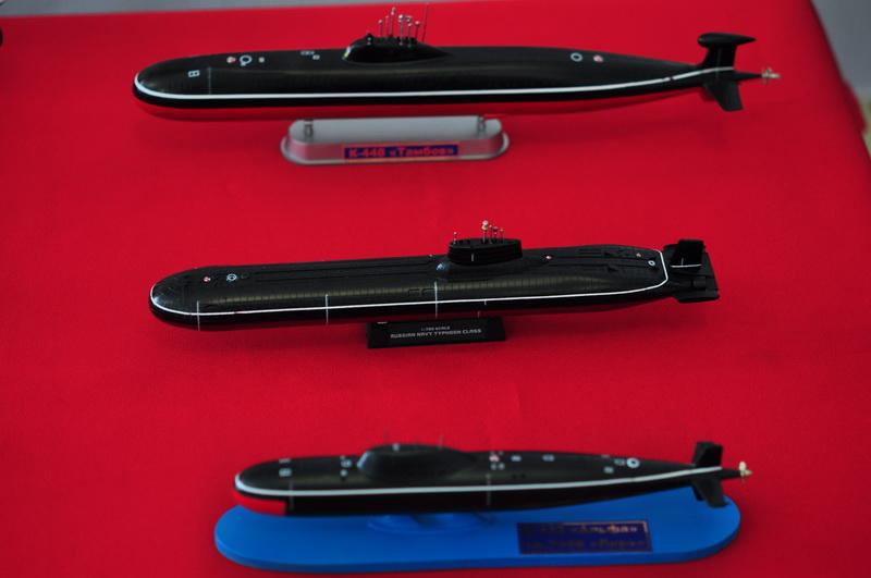 Сендовая модель подводной лодки