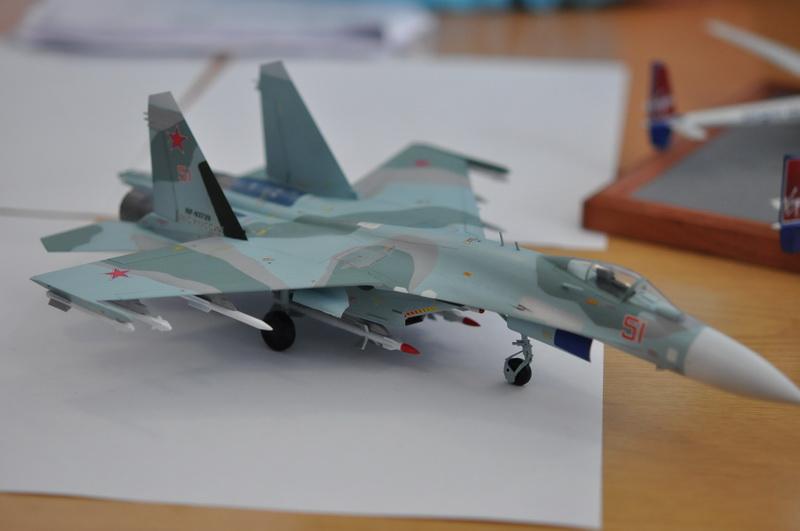 Стендовая модель штурмовика Су 25