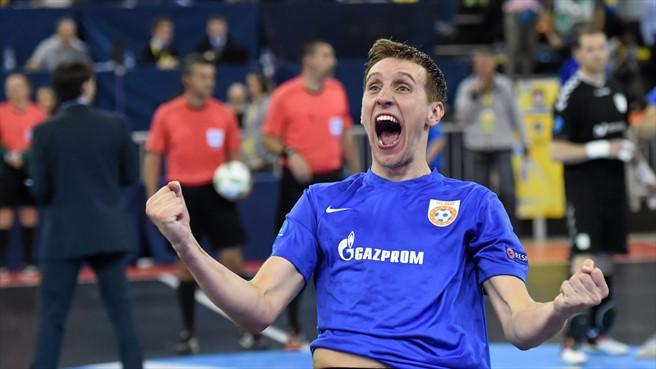 Андрей Афанасьев Газпром-Югра дважды отличился в финале Кубка УЕФА