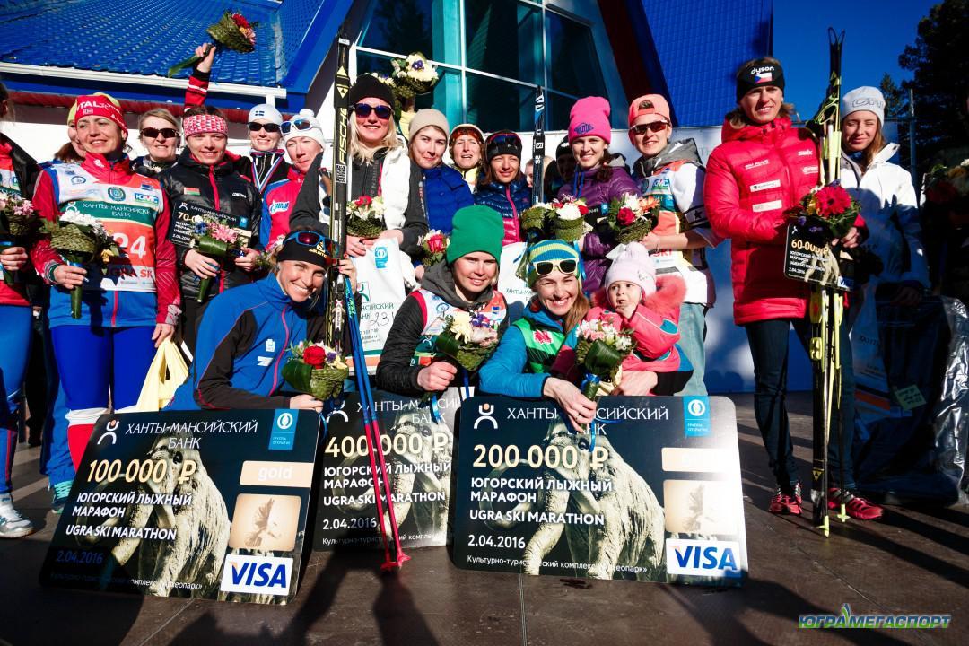 Югорский лыжный марафон победительницы а хантах