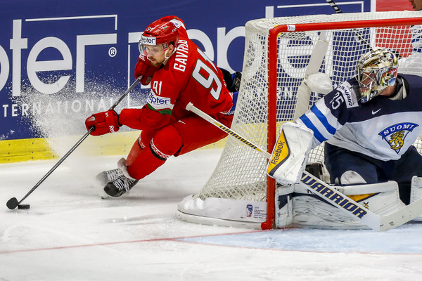 Белоруссия-Финляндия на ЧМ по хоккею