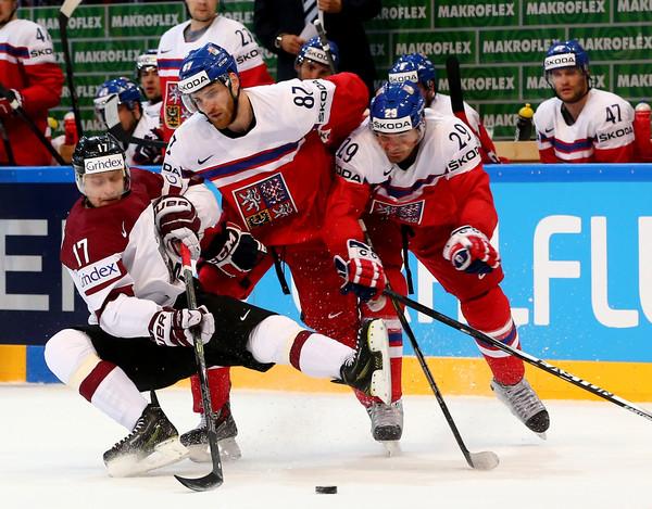 Хоккейный матч Чехия Латвия