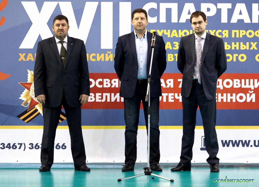 Игорь Губкин, Валерий Радченко и Антон Тимкин