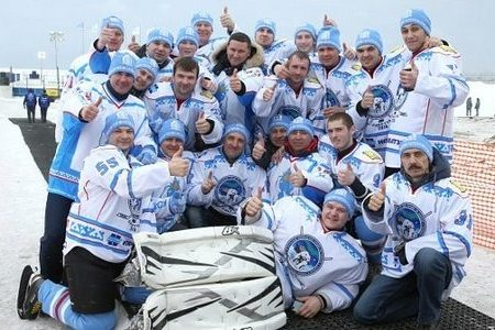 команда по арктическому хоккею