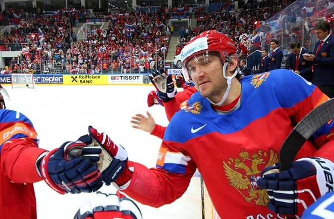 Овечкин сборная России