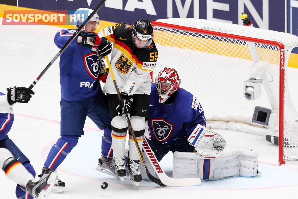 Хоккейные сборные Германии и Франции