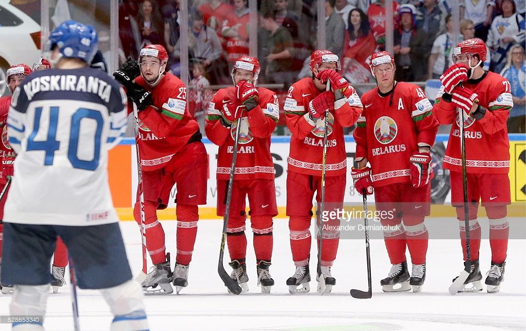 Сборная Беларуси по хоккею состав
