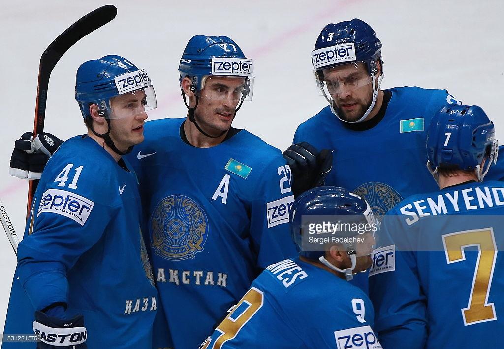Сборная Казахстана чемпионат мира по хоккею 16 мая 2016 года