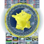 Календарь ЕВРО-2016 для печати и заполнения