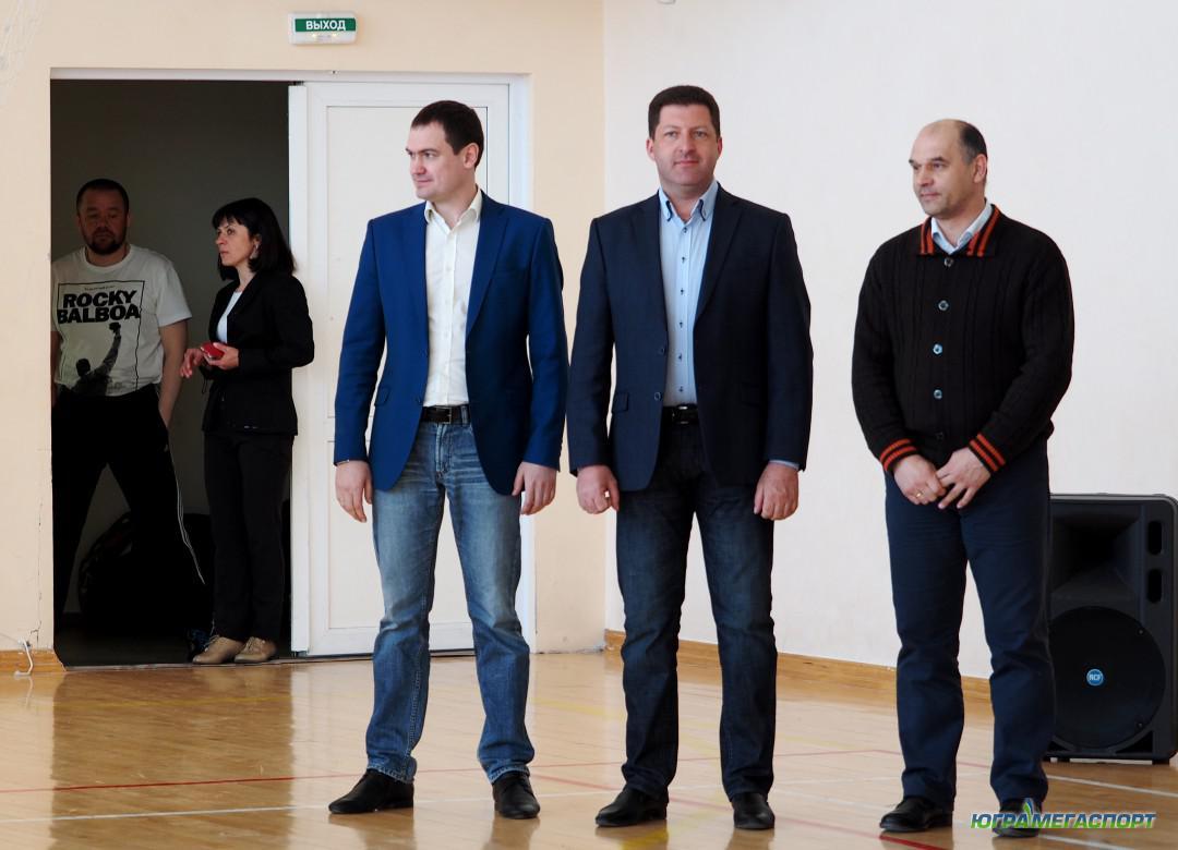 Игорь Губкин, Антон Тимкин и Алексей Дудоладов