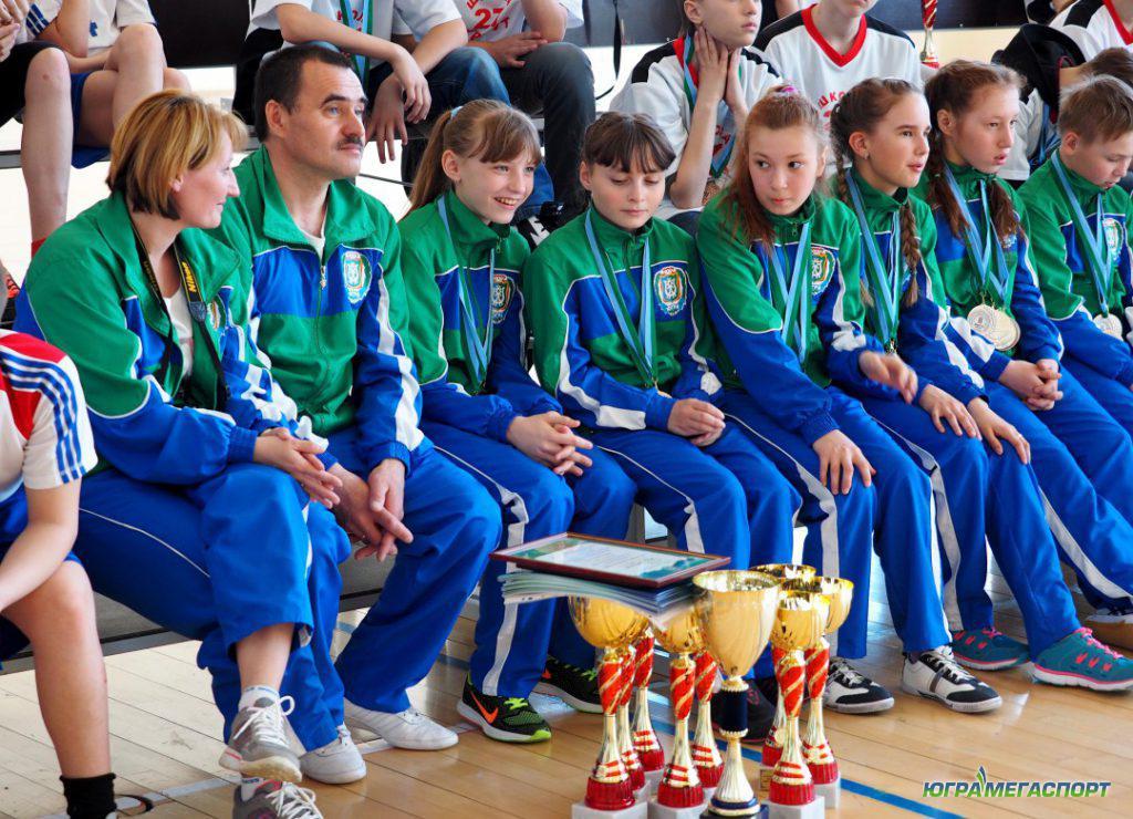 школьники спортсмены ХМАО-Югры