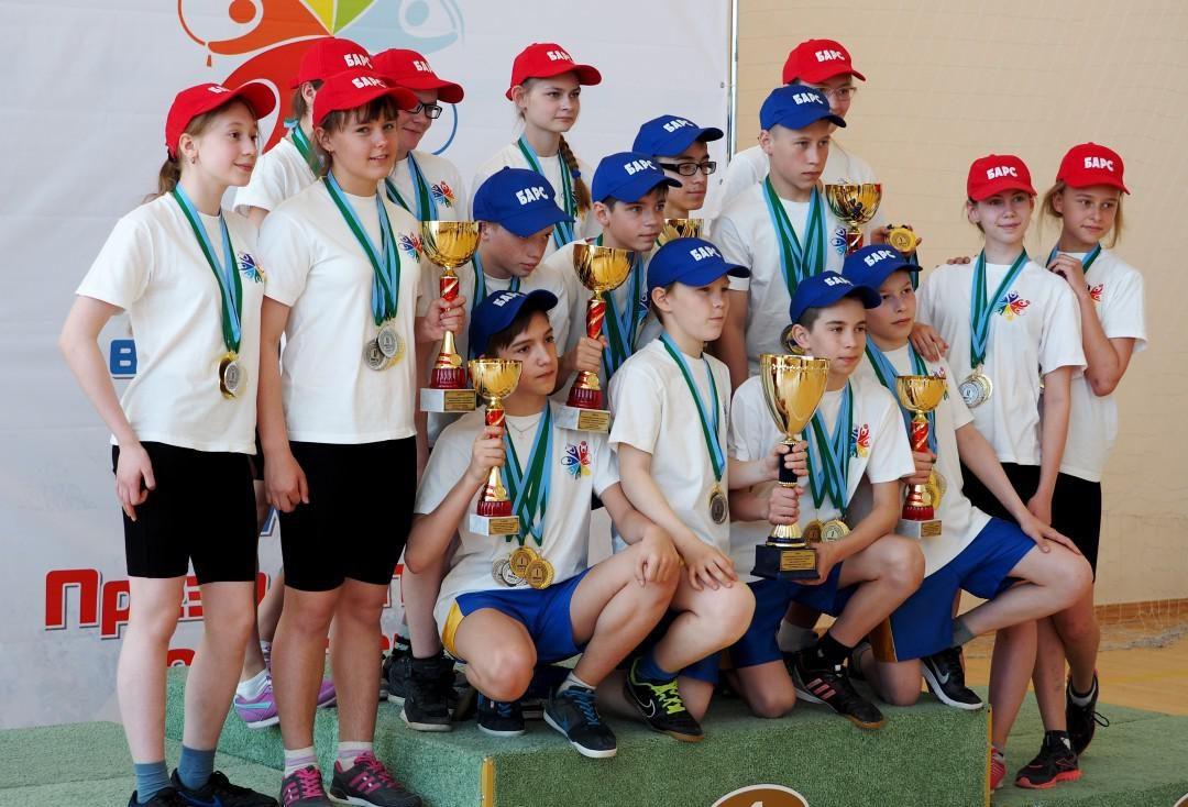 команда 6 «А» класса Салымской школы Нефтеюганского района