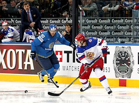 Россия -казахстан хоккей на чм 2016