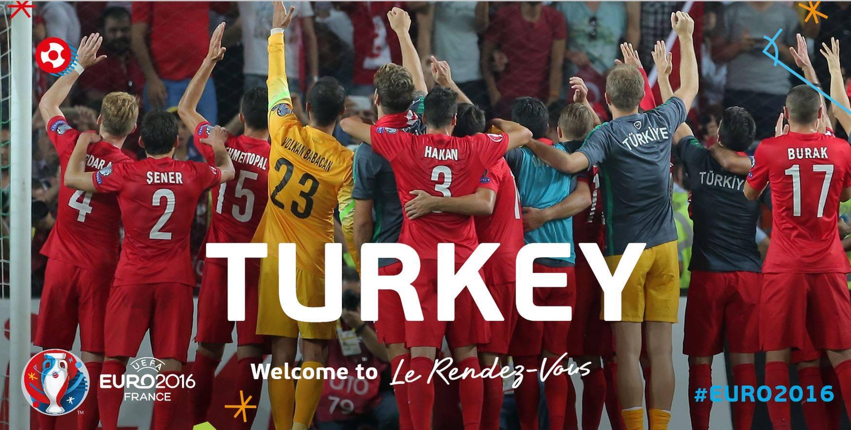 Сборная Турции на ЕВРО-2016