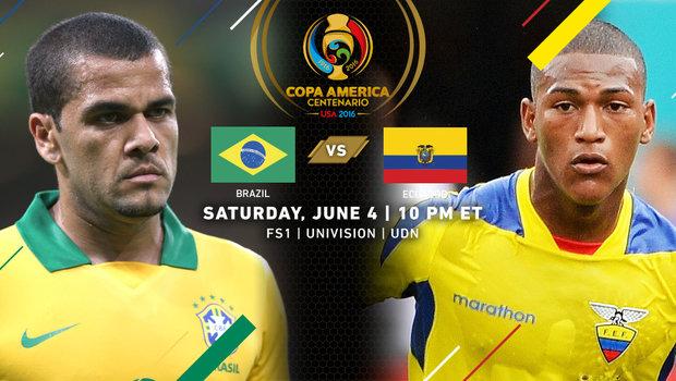 Сборная Бразилии - Эквадор 2016